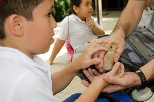 Transformar la cultura ambiental de quienes nos visitan es una de las metas de la Fundación.